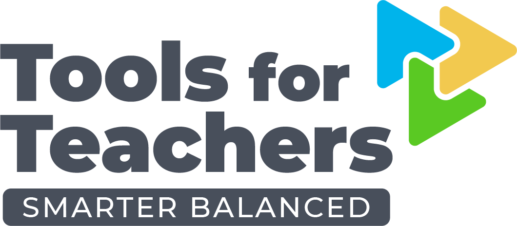 Tools for Teachers by Smarter Balanced